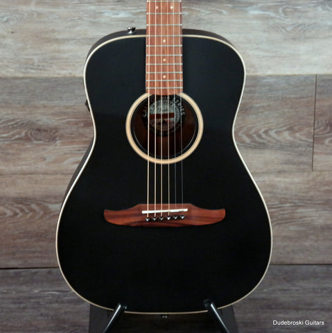 Fender Malibu Special Acoustic-Electric Guitar, Fishman Electronics - Matte Black - Dudebroski Guitars