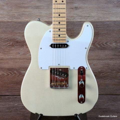 1. Vintage V58 Jerry Donahue Reissued, Custom 5-way Pick-up Switching, Ash Blonde - Dudebroski Guitars