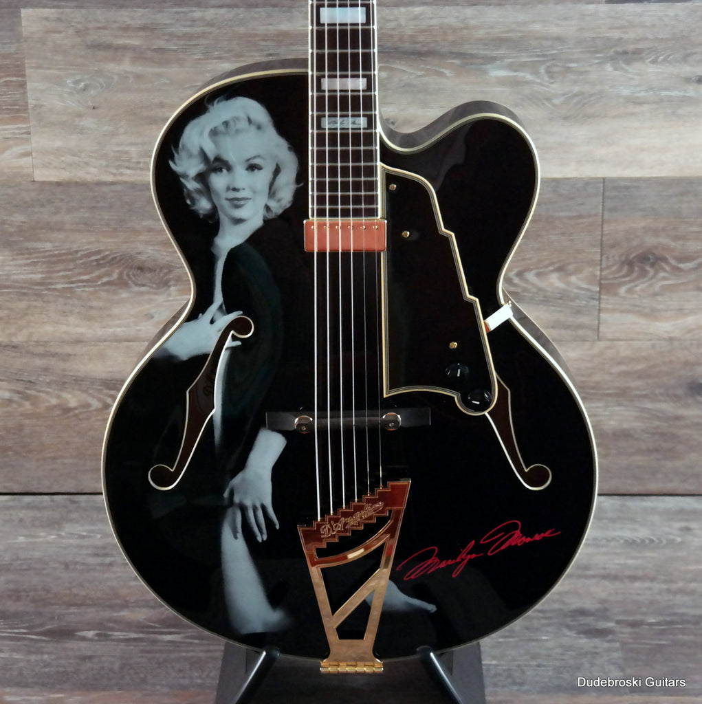 1. D'Angelico EXL-1 Excel Series Hollow-body Special Edition Marilyn Monroe