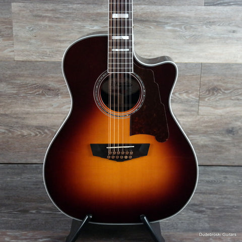 D'Angelico Excel Fulton 12-String Grand Auditorium Body Acoustic-Electric - Dudebroski Guitars