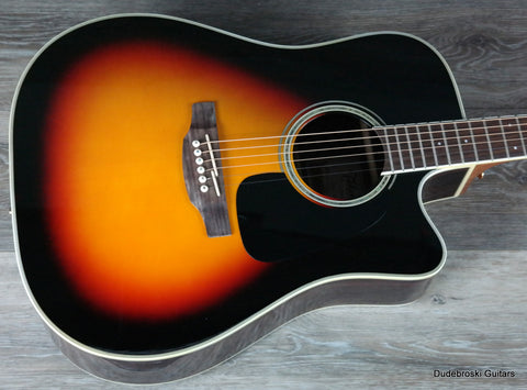 Takamine G Series GD51CE Dreadnought Cutaway Acoustic-Electric Guitar - Dudebroski Guitars