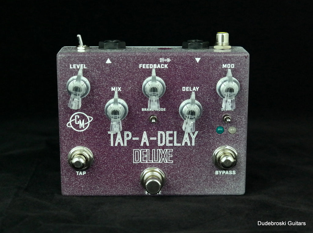 "Cusack Music Tap-A-Delay Deluxe, Tap Tempo Delay with ""Float"" Switch"