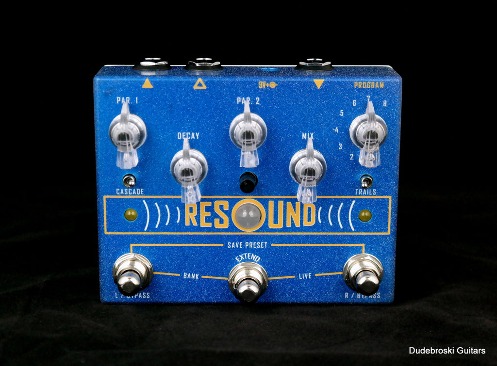 Cusack Resound Digital Reverb, Classic Tones to Ambient Space and Modulation in Stereo