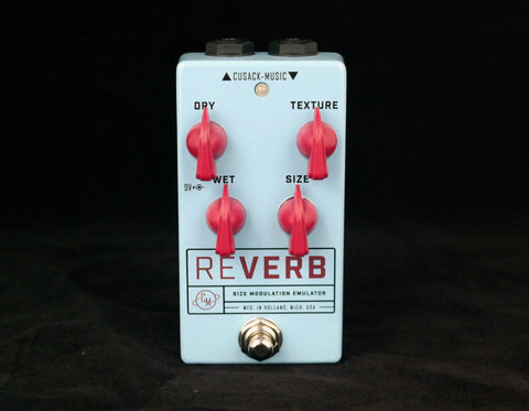 Cusack Reverb SME, Springy to Big Cave Reverb in a Small Footprint - Dudebroski Guitars