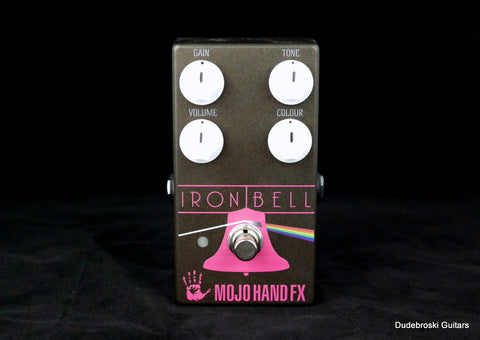 Mojo Hand FX Iron Bell, Gilmour-esque Fuzz Tones, Voiced to be Very Open and Rich - Dudebroski Guitars