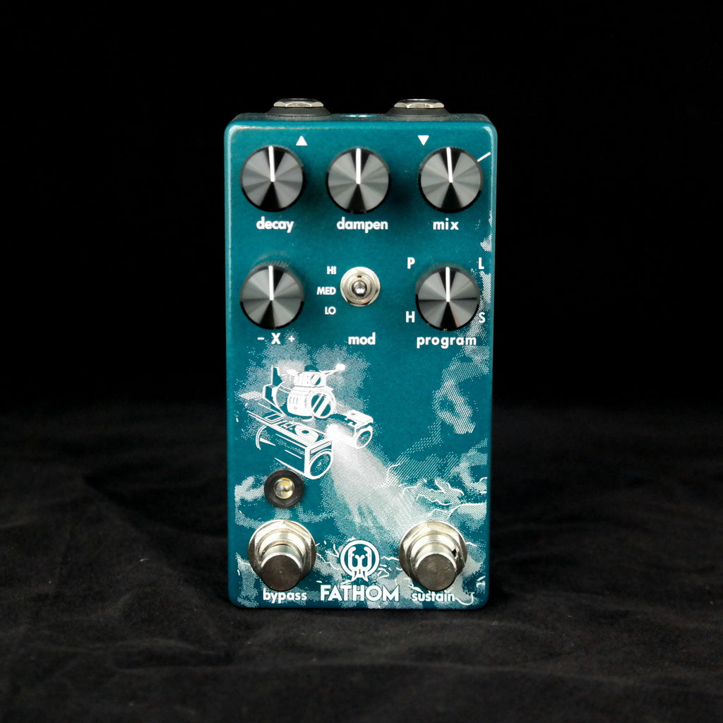Walrus Audio Fathom Reverb - 4 Different Customized Reverb Algorithms to Choose From