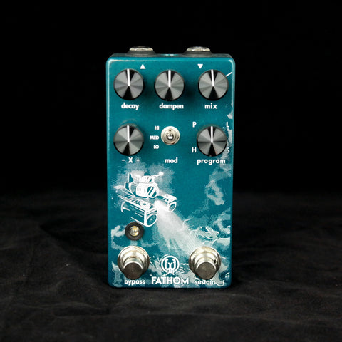 Walrus Audio Fathom Reverb - 4 Different Customized Reverb Algorithms to Choose From - Dudebroski Guitars