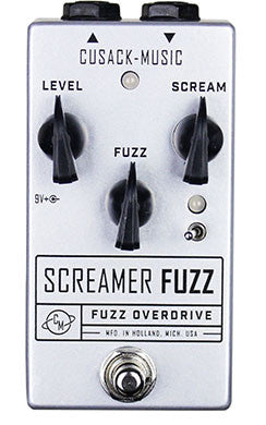 Cusack Screamer Fuzz, a Musical yet Gnarly in your Face Fuzz Pedal