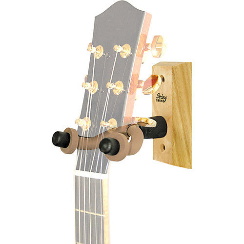 String Swing - Wood Guitar Wall Hanger, Display your Guitar Like a Boss