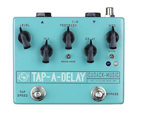 Cusack Tap-A-Delay, 750mS Digital Delay w/Analog Sound!