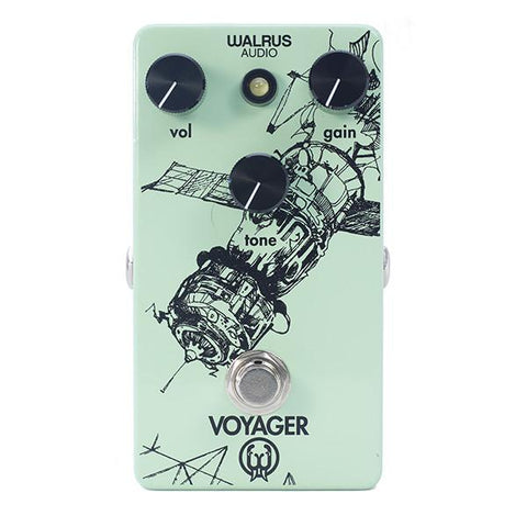 Walrus Audio Voyager Pedal, Gain/Pre-Amp Overdrive, Full Spectrum of Tone - Dudebroski Guitars