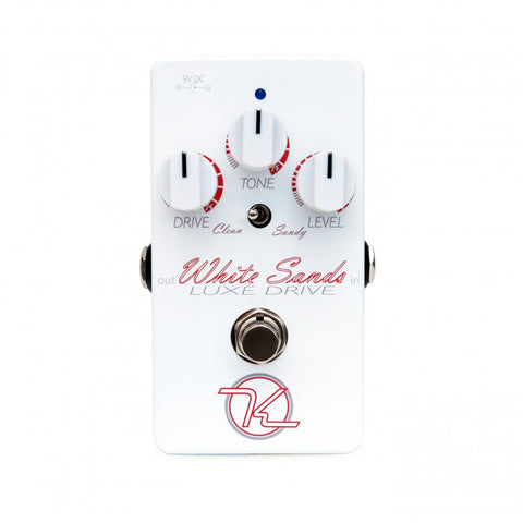 Keeley White Sands – Luxe Drive, Transparent Low Gain Overdrive - Dudebroski Guitars