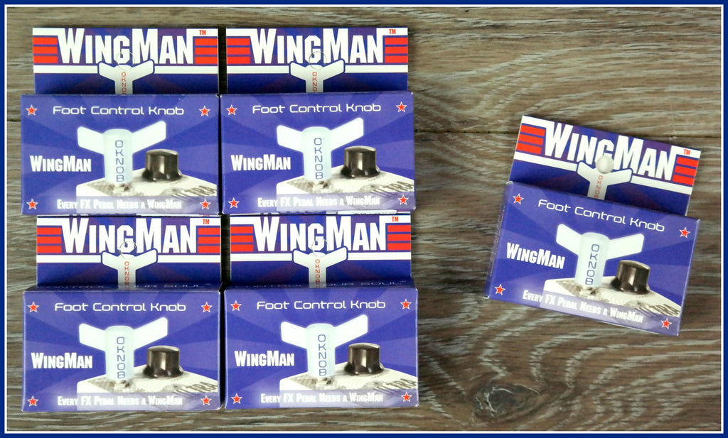 WingMan Effects Pedal Foot Controller, Buy 4 and Get One FREE!