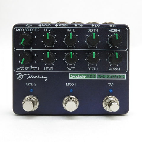 Keeley Super Mod Workstation, Sonically Drench Yourself in Swirling Modulated Tones! - Dudebroski Guitars