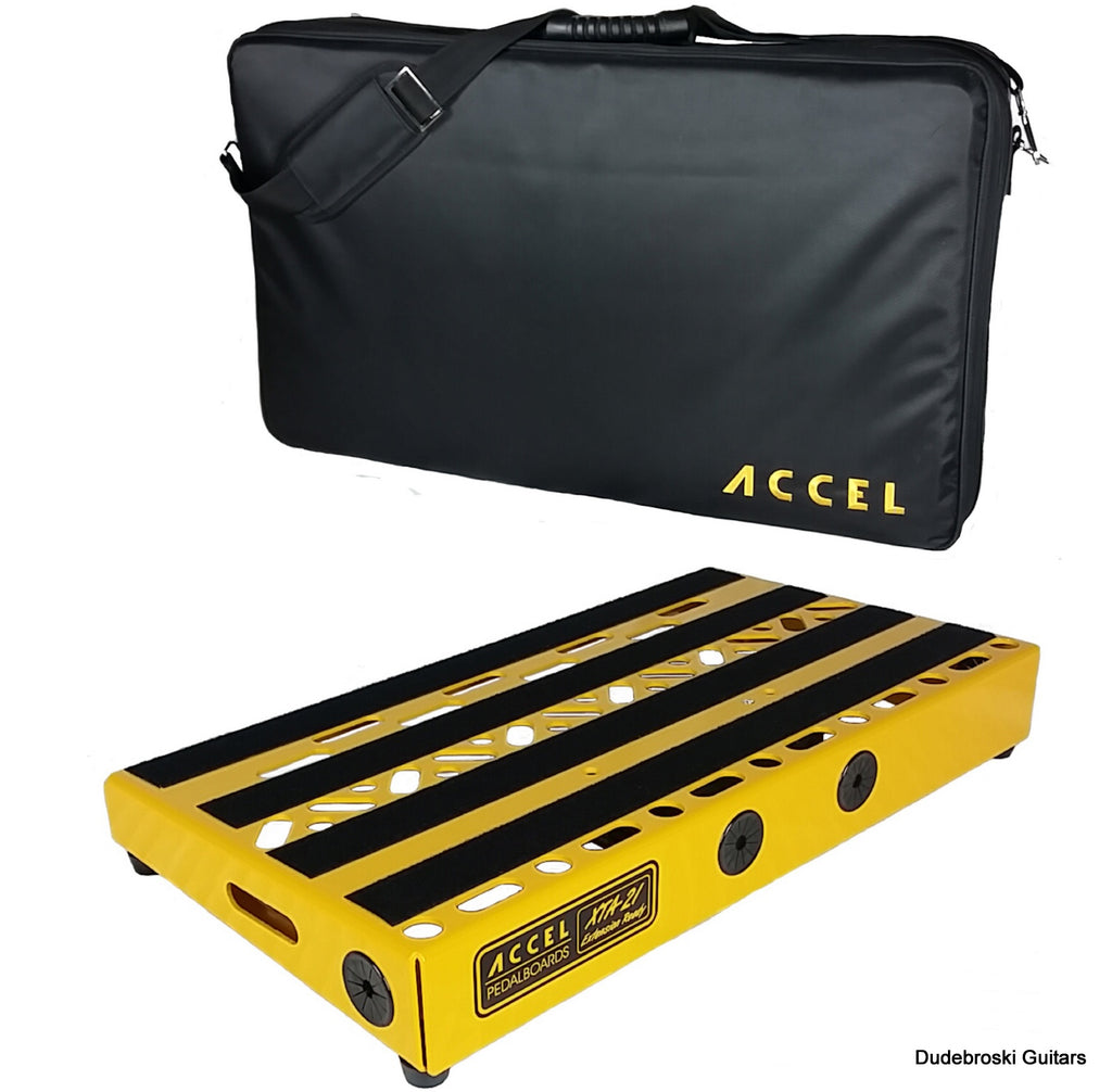 Accel XTA21 Pedal Board XTA21 Cable Pack /& Tote Case