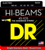DR Hi-Beam Stainless Steel 4-String Bass Strings wound on Round Cores, Medium 45-105 - Dudebroski Guitars
