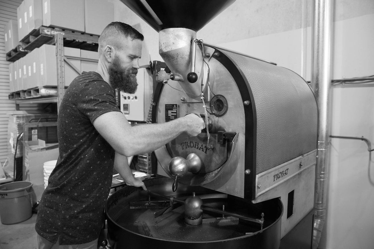 Totally awesome coffee roaster