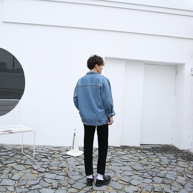 LOUIS OVERSIZED DENIM JACKET
