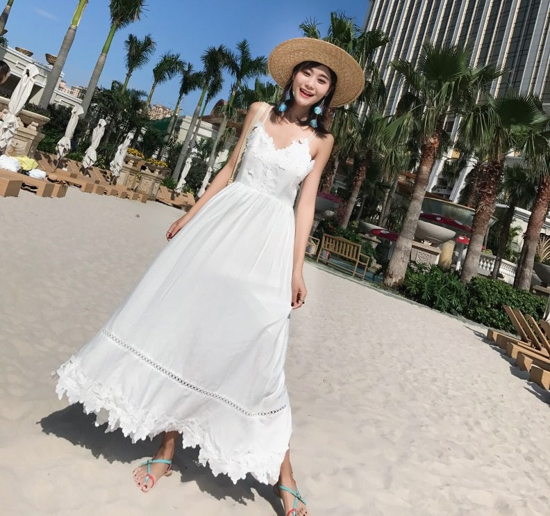 LUANA BEACH READY CROTCHET MAXI