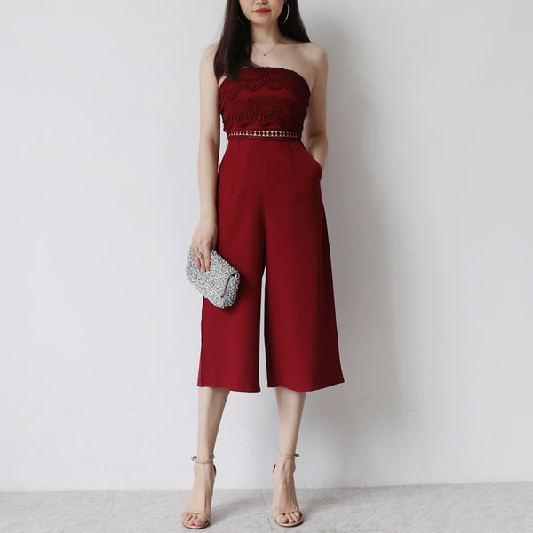 STEFANI WIDE LEG JUMPSUIT