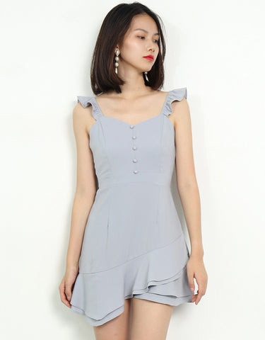VELANA ASYMMETRICAL DRESS