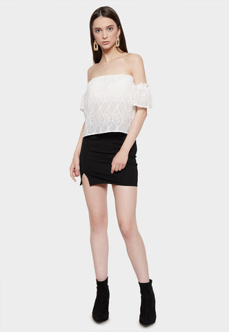 BLANCIA OFF SHOULDER TOP