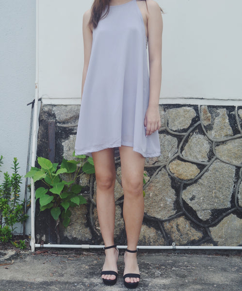 Flowy Chiffon Dress - Holographic Daisies