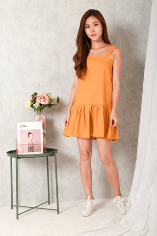 MAREN DROP HEM DRESS