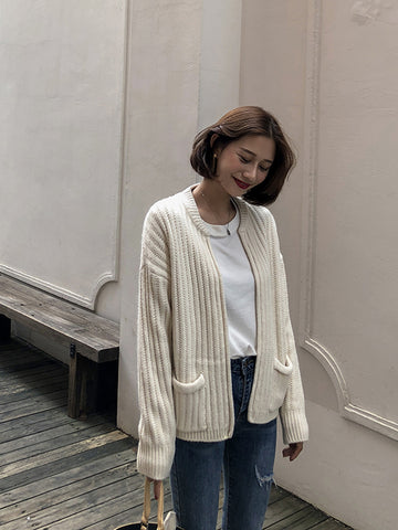 PREEN POCKET CARDIGAN