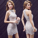 SIDE TO SIDE LACE DRESS
