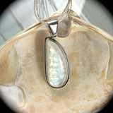 Moonstone sterling silver pendant