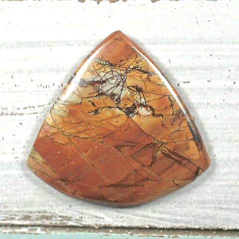 Red Creek Jasper Cabochon - Rusmineral cabochons&jewelry - 1
