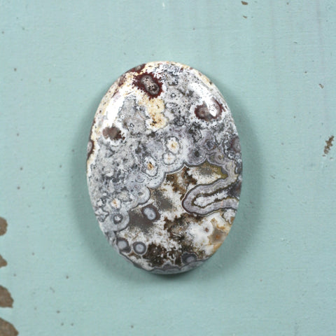 Crazy Lace Agate cabochon - Rusmineral cabochons&jewelry