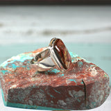 Pietersite sterling silver ring - Rusmineral cabochons&jewelry - 5