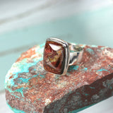 Pietersite sterling silver ring - Rusmineral cabochons&jewelry - 1