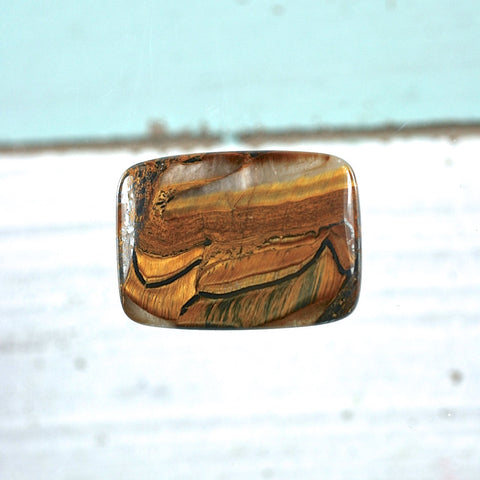 Tiger Iron cabochon - Rusmineral cabochons&jewelry - 1