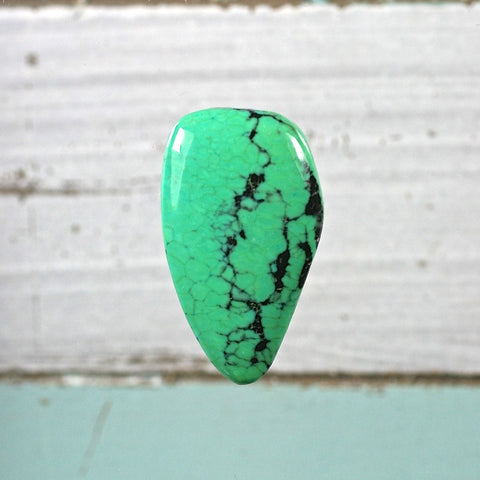 Green Turquoise cabochon - Rusmineral cabochons&jewelry