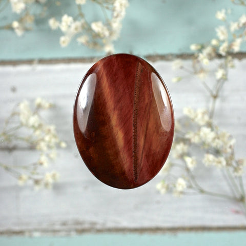 Tiger Eye  cabochon - Rusmineral cabochons&jewelry - 1