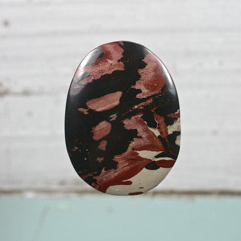 Indian paint Picture Jasper cabochon - Rusmineral cabochons&jewelry