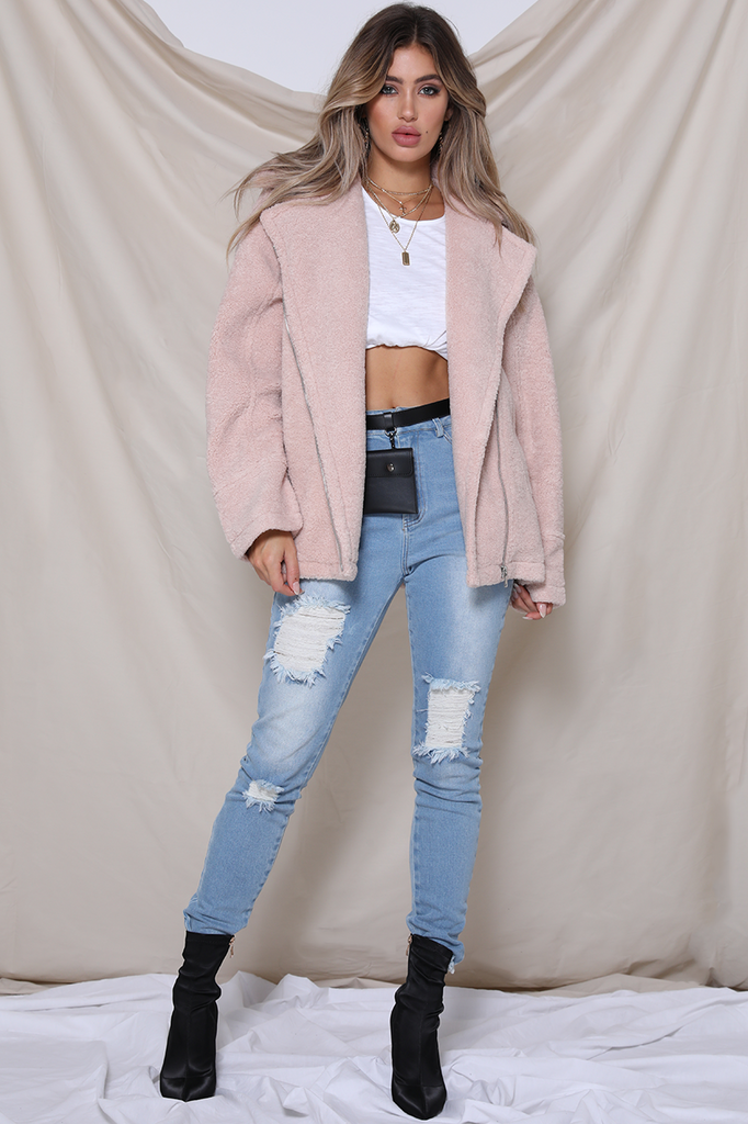 Off Duty Jacket- FAIRY FLOSS - Alyanna by Alexandra
