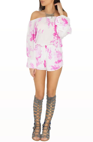 Bottoms - Floral Romper