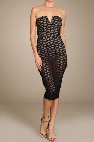 DRESS - Lace For The Night
