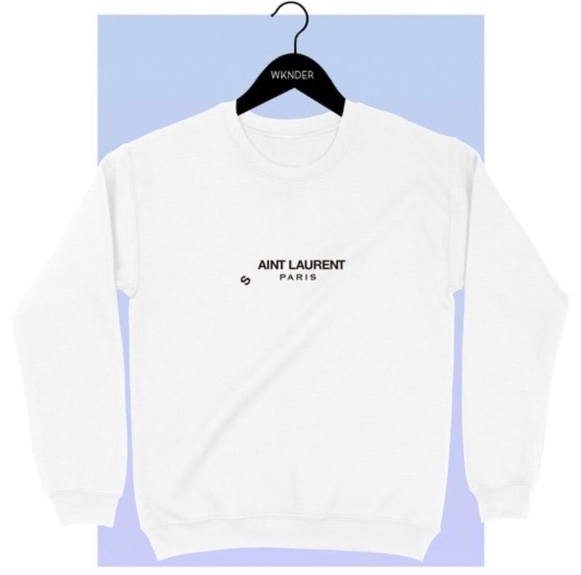 Aint Laurent Oversized Sweatshirt