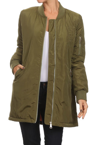 JACKETS - The Long Bomb- Olive