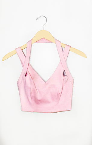Pink Ladies Crop Top - Alyanna by Alexandra