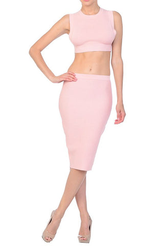 SKIRTS - Blushing Over You Skirt