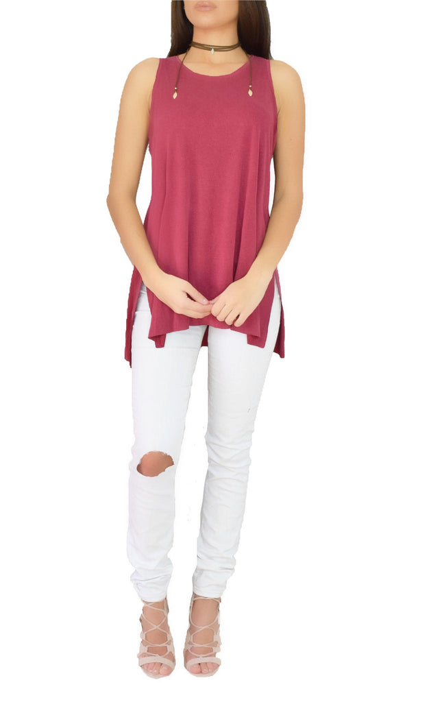 Tops - Rumba Red Tank