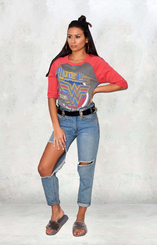 Tops - Wonder Woman Raglan