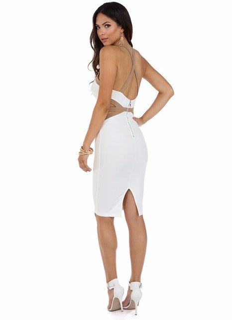 Ami Xback Dress - Adore Fashion