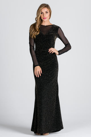 Dori V-Neck Sequin Dress